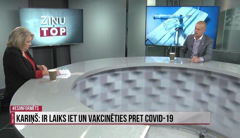 Zariņš: Mazspējīgā valdība neredz citas iespējas, kā tikai vakcināciju