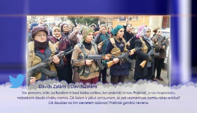 Viedokļu līderi par Turcijas operāciju Sīrijā