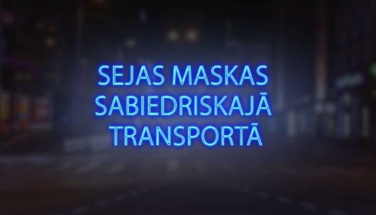 Tvitersāga: Sejas maskas sabiedriskajā transportā