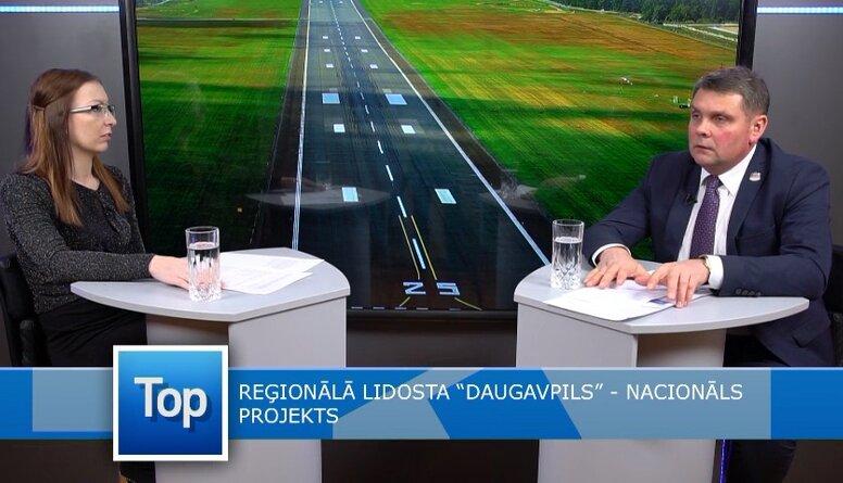 Adamovičs: Daugavpils lidostas projektam tiks piešķirti 100 000 eiro