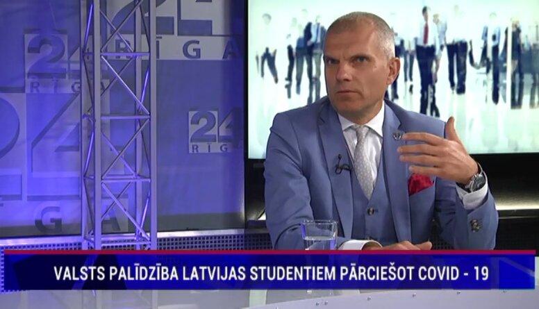 Valsts palīdzībai Latvijas studentiem pārciešot Covid - 19, atbalstīs tikai studentus budžeta vietās