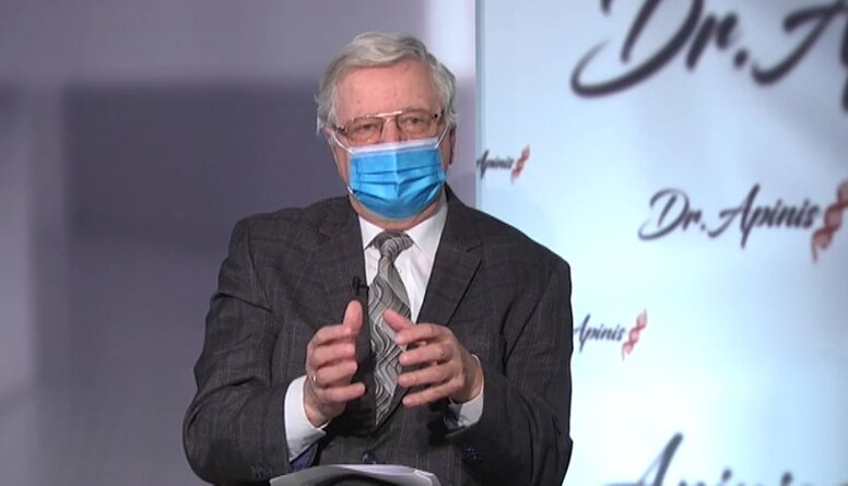 Profesors stāsta, kā tika atlasīta 6000 cilvēku grupa pētījumam par slimību riska faktoriem