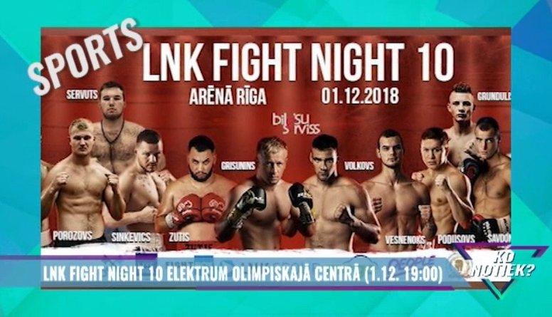 Šovakar - LNK Fight Night 10!