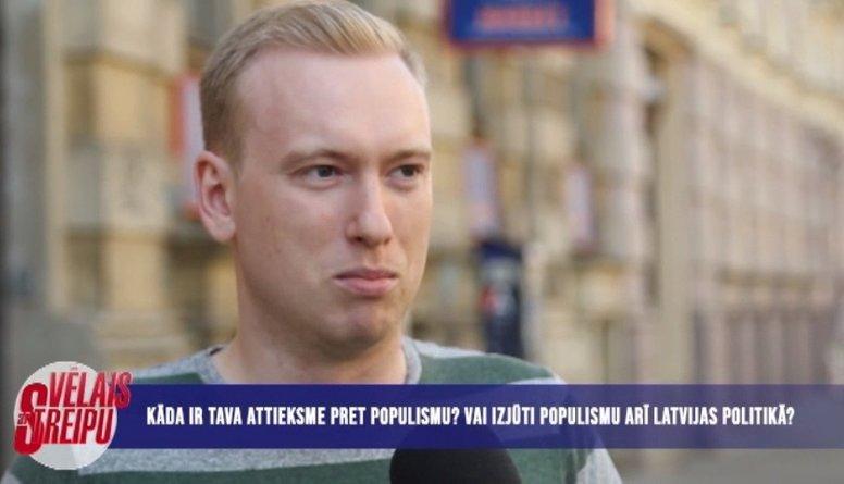 Iedzīvotāju attieksme pret populismu