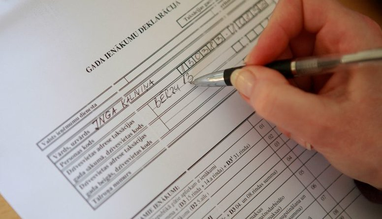 Lielo iedzīvotāju vēlmi iesniegt ienākumu deklarācijas Čakša vērtē pozitīvi