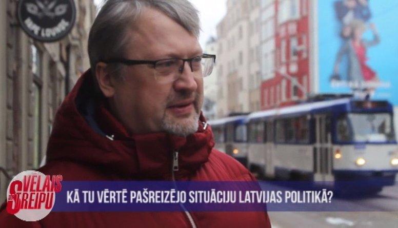 Iedzīvotāju vērtējums par pašreizējo situāciju Latvijas politikā
