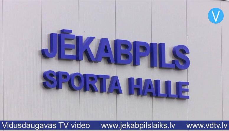 Jēkabpils sporta halle pieņemta ekspluatācijā
