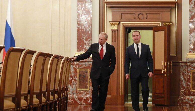 Rinkēvičs: Krievijā notiek varas transformācijas process