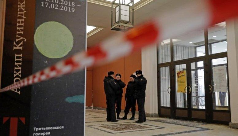 Aizturēts Tretjakova galerijas zaglis