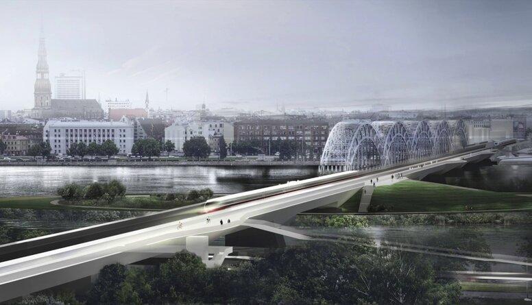 """""""Rail Baltica"""" mainīs Rīgas ārieni uz tuvākajiem 100-200 gadiem, vēsta Zeps"""