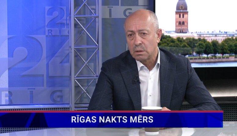 Oļegs Burovs par Rīgas naktsmēra ideju