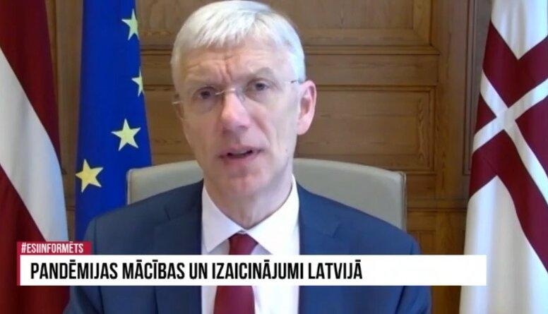 Ministru prezidents izklāsta, cik daudz Covid-19 vakcīnu Latvija ir pasūtījusi