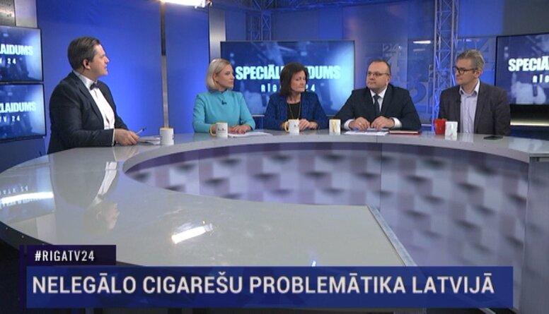 Speciālizlaidums: Nelegālo cigarešu problemātika Latvijā 1. daļa