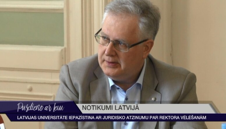 LU iepazīstina ar juridisko atzinumu par rektora vēlēšanām