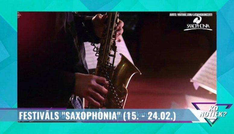 """Festivāls """"Saxophonia"""""""