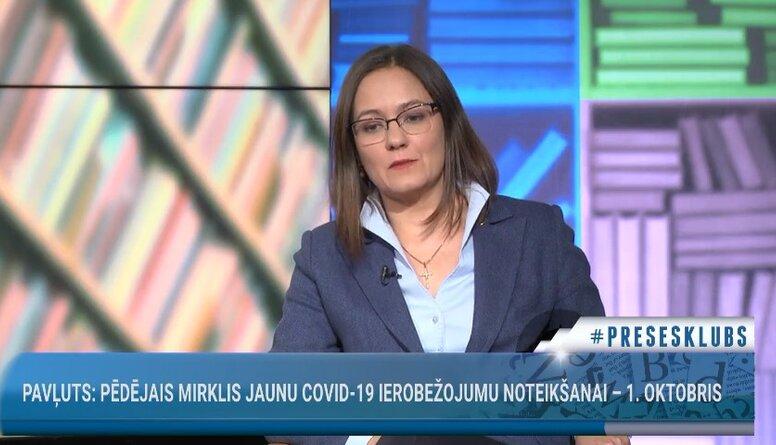 Linda Ozola: Pieaugušajiem ir lielākas problēmas pieņemt, ka maska ir jāvelk