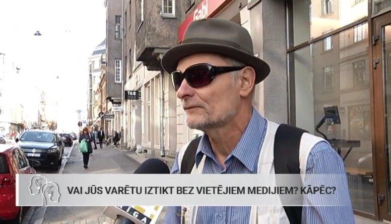 Tautas balss: Vai Jūs varētu iztikt bez vietējiem medijiem?