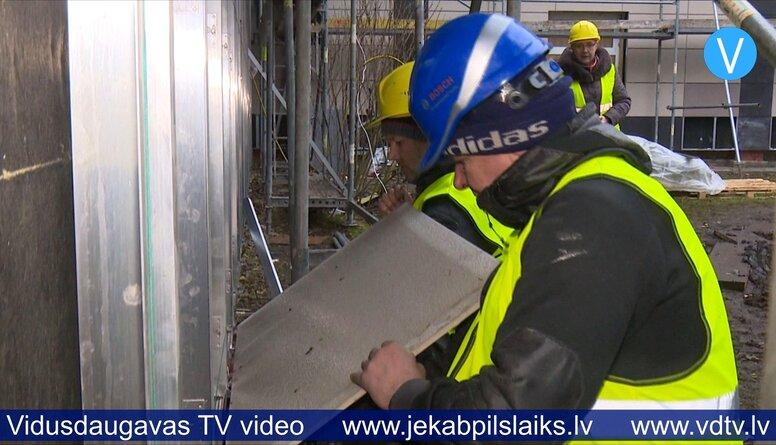 05.02.2020 Jēkabpils Agrobiznesa koledžas siltināšana
