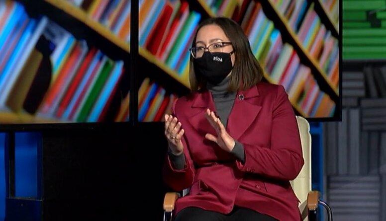 Rīgas vicemēre Linda Ozola stāsta par grūtībām attālinātā mācību procesa laikā