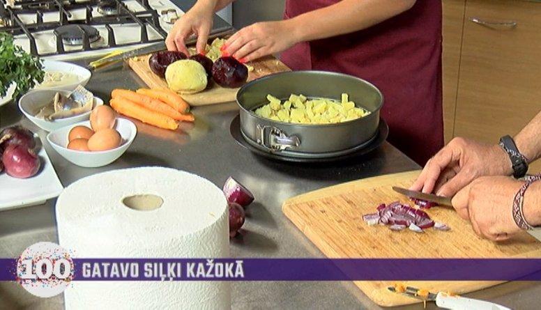 Pagatavo siļķi kažokā Diānas Pīrāgs gaumē!