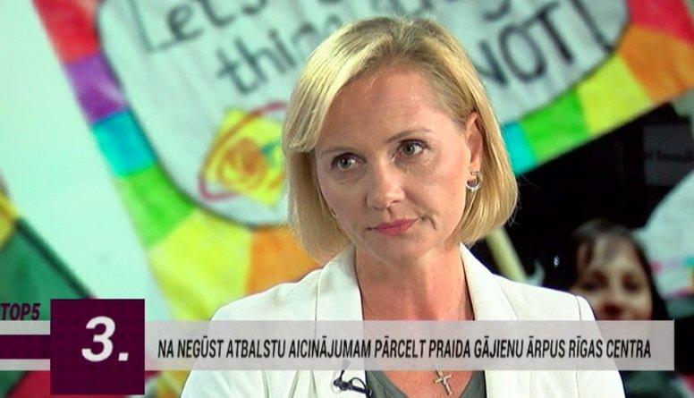 Baiba Broka: Praida gājieni Latvijā nesasniedz savus mērķus