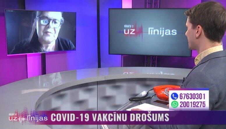 Kādas blakusparādības no Covid-19 vakcīnām ir reģistrētas Latvijā?