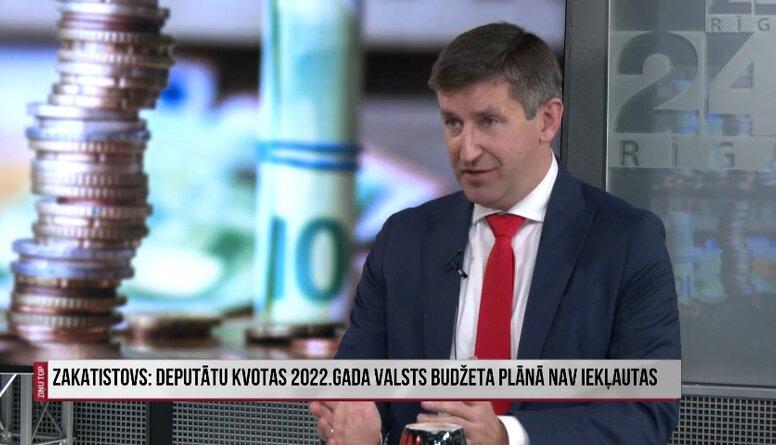Vjačeslavs Dombrovskis par deputātu kvotu jautājumu