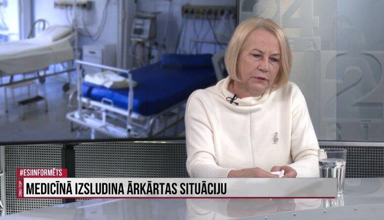Līga Kozlovska: Ārkārtas stāvoklis būs par sliktu pacientiem