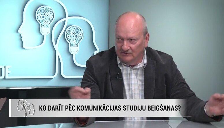 Holšteins: Mums ir kritiski maz zinātņu doktori audiovizuālajā jomā