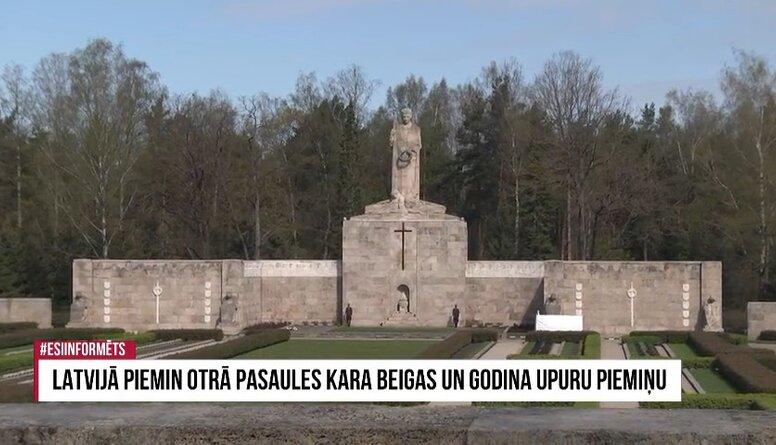 Speciālizlaidums: Latvijā piemin Otrā pasaules kara beigas un godina upuru piemiņu