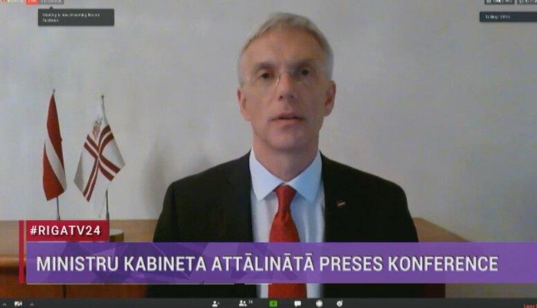 Speciālizlaidums: Ministru kabineta attālinātā preses konference