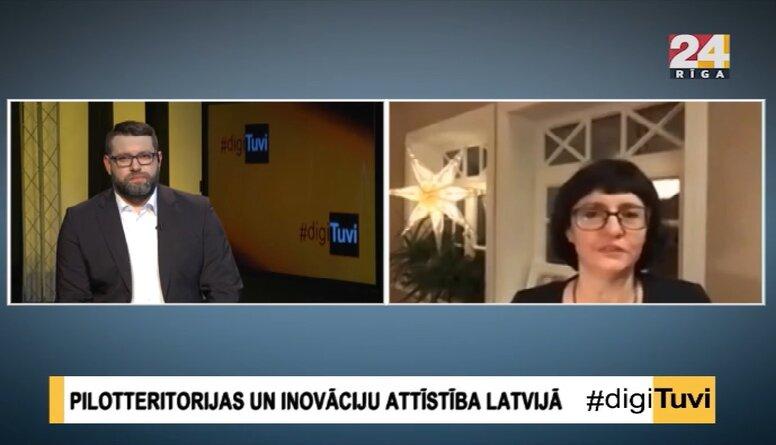 Inese Andersone par Vefresh inovāciju kustību Rīgā