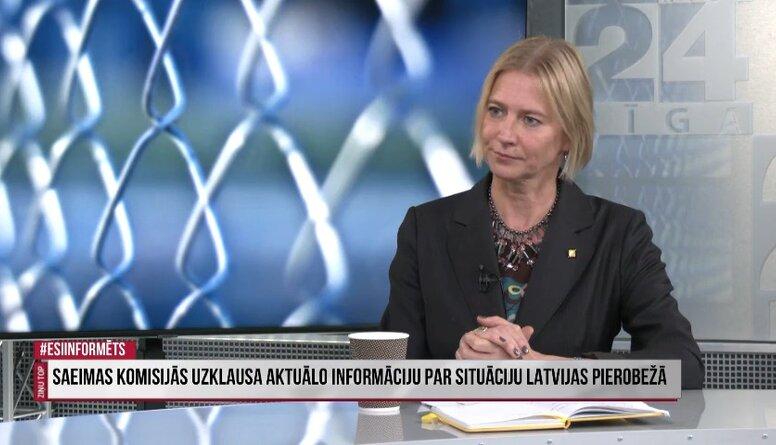 Saeimas komisijās uzklausa aktuālo informāciju par situāciju Latvijas pierobežā