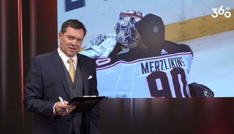 Skaists stāsts par latviešu vārtsargiem NHL...