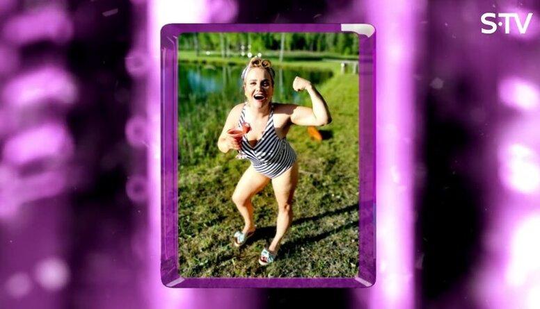 Katrīna Dimanta par cīņu ar lieko svaru