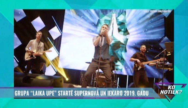 """Grupa """"Laika Upe"""" startē Supernovā un iekaro 2019. gadu"""