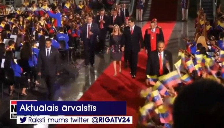 Venecuēlas prezidents Maduro uzsāk otro termiņu