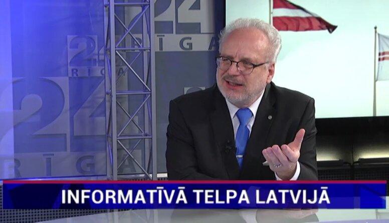 Levits: Mums ir ļoti vāja, faktiski nekāda informatīvās telpas politika