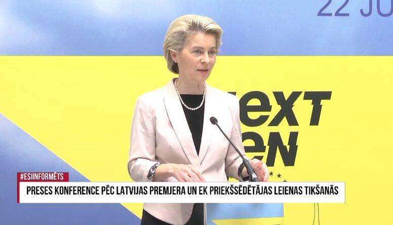 Speciālizlaidums: Vizītē Latvijā ierodas EK priekšsēdētāja 2. daļa
