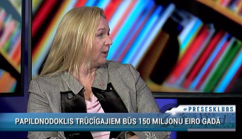 Egle: Šobrīd ir ļoti nekorekti domāt par nodokļu izmaiņām