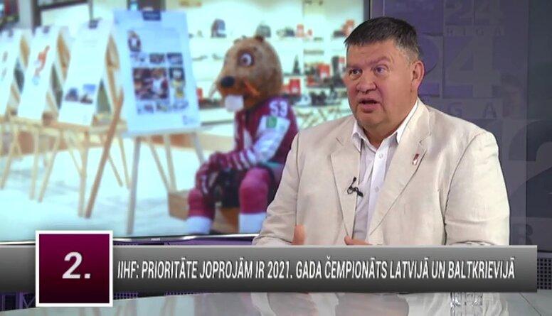 Aigars Kalvītis par 2021. gada hokeja čempionātu Latvijā un Baltkrievijā