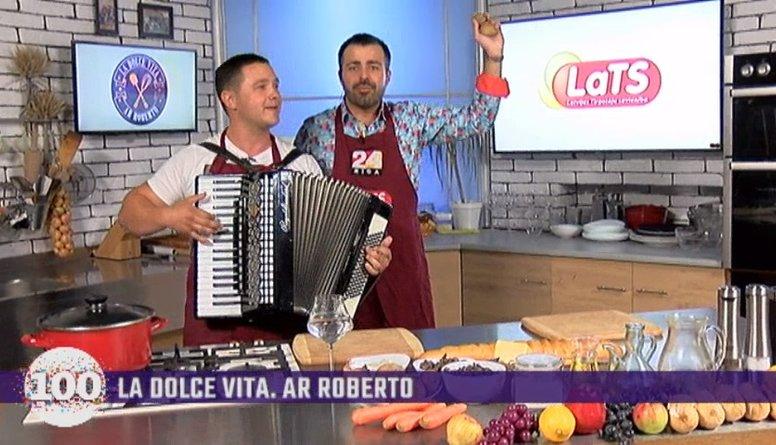 31.08.2018 La Dolce Vita. Ar Roberto 1. daļa
