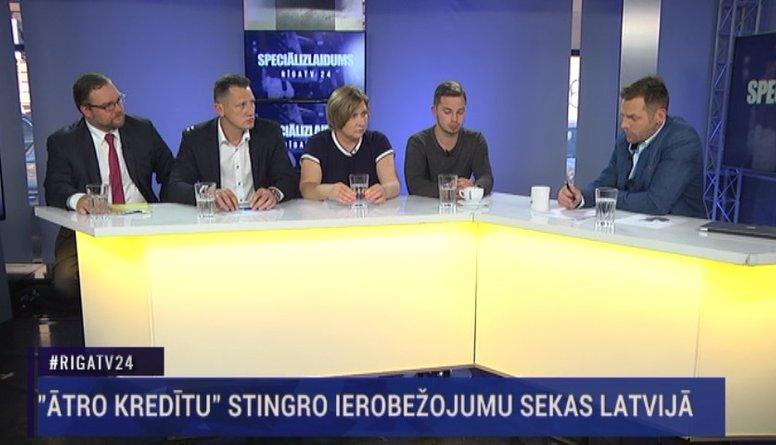 """Speciālizlaidums: """"Ātro kredītu"""" stingro ierobežojumu sekas Latvijā 1. daļa"""