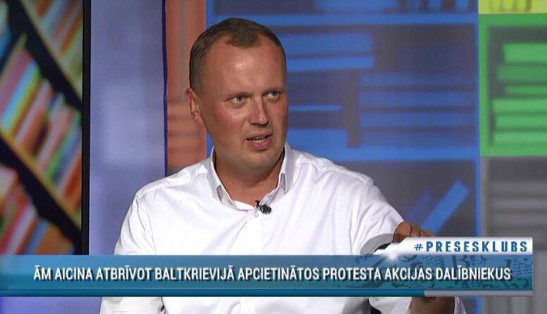"""Tavars par apcietinātajām personām Baltkrievijā: """"Arī Latvijā mēs daudz kur nerēķinamies"""""""