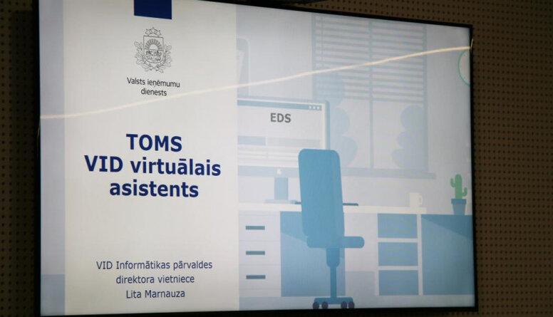 """VID ieviesis klientu virtuālo asistentu """"Toms"""""""