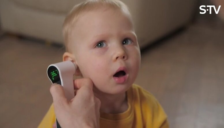 Mūsdienīgs veids, kā izmērīt bērnam temperatūru ātri un ērti