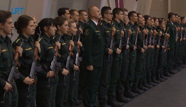 Valsts robežsardzes kadeti nodod svinīgo zvērestu