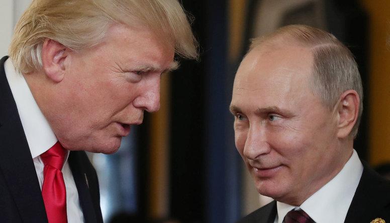 Vai iespējams, ka būs neoficiāla Trampa un Putina tikšanās?