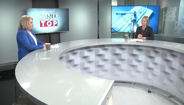 Baumane: Latvijā nevaram priecāties par attieksmi pret vakcināciju