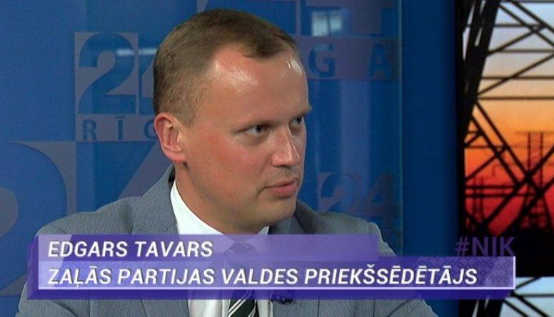 Edgars Tavars: OIK ir kā nazis mūsu tautsaimniecībai